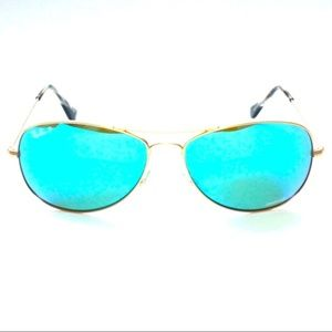 0fc3977fa9 Ray-Ban Accessories - Ray Ban CHROMANCE Blue Mirror Polarized RB3562 112